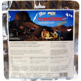 Travellunch Outdoor Nahrung 125g Pasta mit Rindfleisch und Pfeffersoße